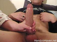 BIG COCK BIG LOAD HANDJOB