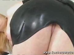 Beautiful and terrifying Mistress Flower Tucci in latex