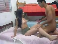 Indian NRI college girl sex tape very hot puffy breasts