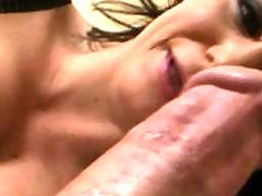 Busty Sara Stone gets plowed by the Zilla express!