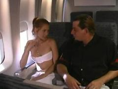 fucked on an airplane
