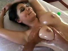 Busty Nadia Nash gets Massage Sex