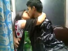 Desi Lovers Kissing N Boobs Squeeszing Front Of Friends indian desi indian cumshots arab