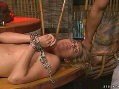 Hot girl gets punished and fucked