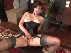 Fantastic nylon stocking milf