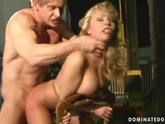 Jessica Moore gets bondaged and fucked