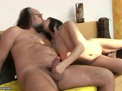 Lustuful old guy lick and fuck slutty Teens