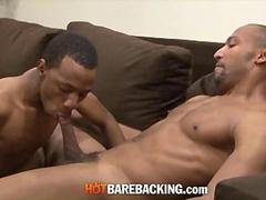 Black BBC Dilf Fucking A Skinny Thug Raw And Bareback