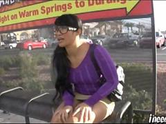 Dragonlily wetting her panties public humiliation