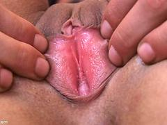 Melissa Pussy Examination in Close Up