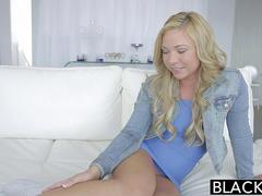 BLACKED Hot Blonde Teen Katerina Kay Takes Huge Black Cock