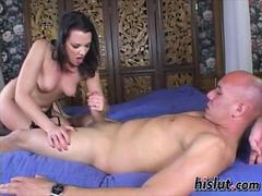 Olivia got it on with her big cock man