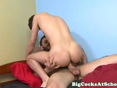 Hunter Page rides Tommy Defendi big cock