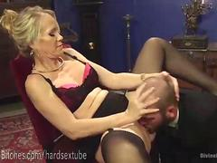 Ultimate MILF Blonde Dominatrix