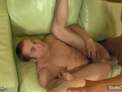 Married guy gives blowjob to a gay