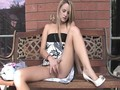 FTV Girls FTVGirls Sara cute blonde teen getting naked and flashing tits and fingering