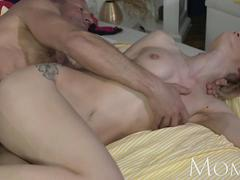 MOM Experienced stud slides his hard cock deep inside a hot wet horny milf