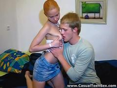 Casual Teen Sex - Insatiable redhead
