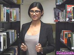 Sweet hot babe Mia Khalifa craving hard cock