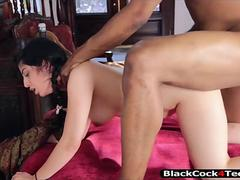 Sexy Arab Nadia Ali deepthroats and pounded real rough