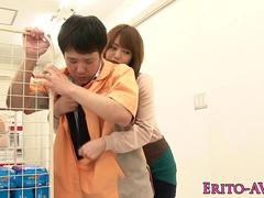 Dominating japanese fucks in grocery store