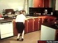 raw vintage porn from the back in the 70s