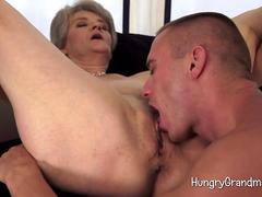 Granny Over 60 Experienced Blowjob