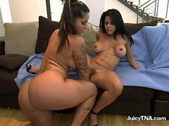 Spicy J And Diamond Kitty In Sixty Nine Lesbian Style