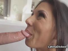 Cheating with kinky Spanish maid