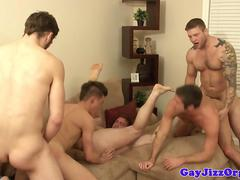 Anal bear cumshots over cub after fucking