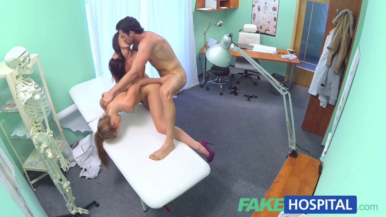 Fakehospital sexy nurse gets creampied by doctor 4