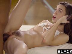 BLACKED Naughty Tali Dova lives her fantasy