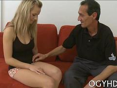 babe licked by an old guy film