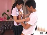 Japanese schoolgirl makes out and gets fucked by her teacher doggy style on GotPorn (5462893)