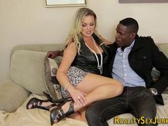 Blonde cuckolds with bbc