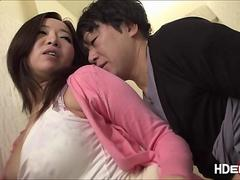 Japanese milf Kaori gets pussy licked then fingered