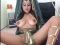 cosplay egyptian with big boobs-webcam girls on sluttcamgirls.com