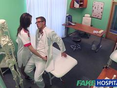 FakeHospital Minx sucks and fucks to get a job