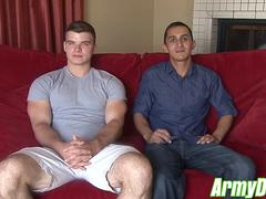 Gorgeous Will and Ivan James sharing their sex passion