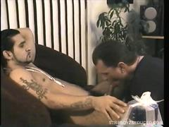 Straight Boy Franco Tries To Swallow