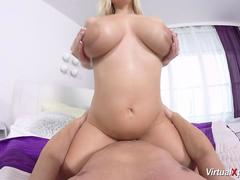 busty pregnant babe fucked