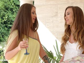 check my dress - lesbian scene with capri anderson and angelina brill by sapphix