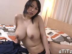 Big boobed Asian darling needs sucking and hard fucking