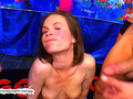 Dirty Luisa takes on an Army of Cocks -  German Goo Girls