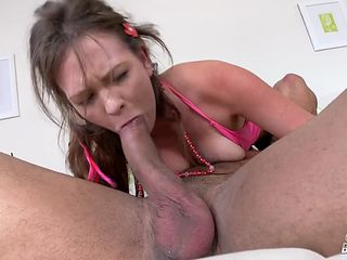 this horny mom is eager to receive that hulking cock between her legs