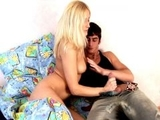 Sexy blonde russian teen girl kate gives blowjob feature