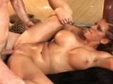 Eve Laurence rides big dick