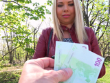 Russian babe Diana needs a little cash so she let dude banged her
