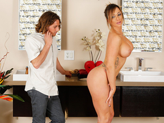 Big tits and blonde Destiny Dixon gets hammered by Tyler Nixon