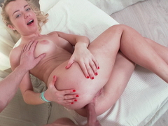 First Anal Sex Makes a Sexy Teens Pussy Dripping Wet